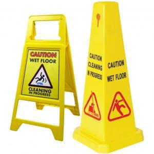 Wet Floor Signs & Cones